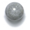 Semi-Precious 10mm Round River Stone